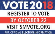 SM Register to Vote 2018 Official Election Information