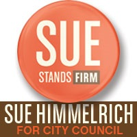 Sue Himmelrich for City Council banner ad