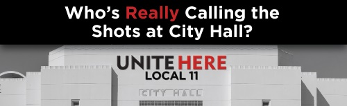 "Union Facts asks ""Who's really running City Hall?"""