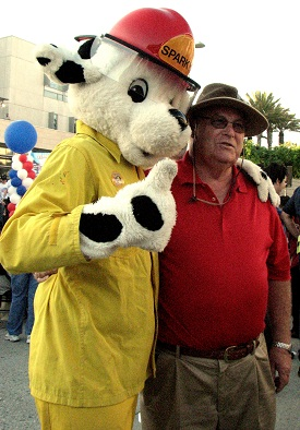 Bob Holbrook at 2011 National Night Out