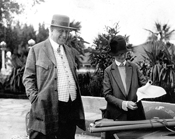 Julia Morgan and William Randolph Hearst
