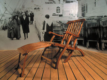 Titanic chair