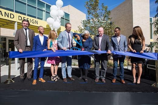 Ribbon Cutting for Santa Monica College Media Campus